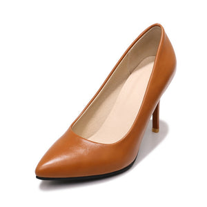 Stiletto Heel Pointed Toe Women Pumps