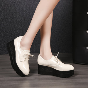 Women's Loafer Platform Flat Shoes