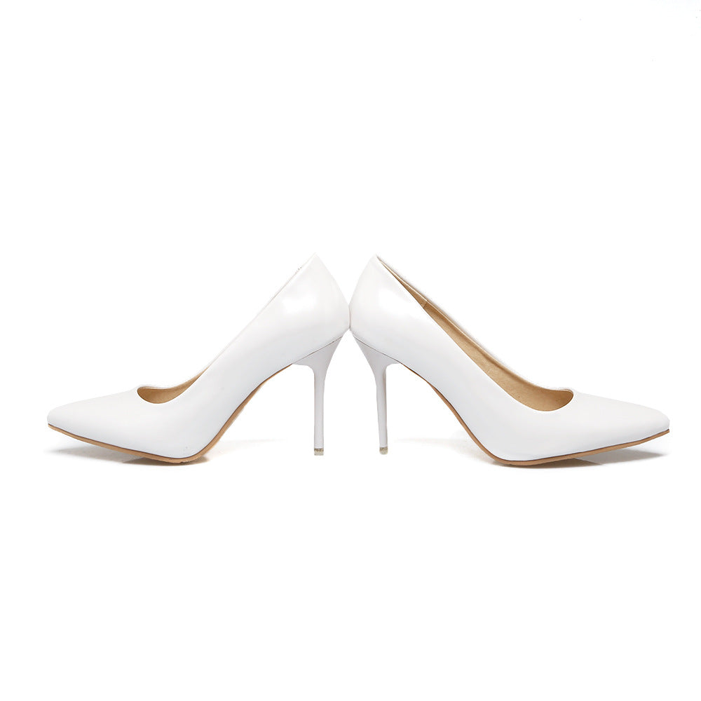 Pointed Toe High Heel Shallow Mouth Stiletto Heels Pumps