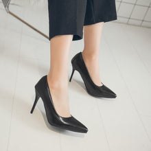 Load image into Gallery viewer, Stiletto Heel Pointed Toe Women Pumps