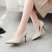 Load image into Gallery viewer, Patent Leather High Heel Stiletto Heel Pumps