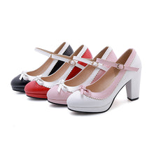 Load image into Gallery viewer, Bowtiel High Heel Platform Pumps