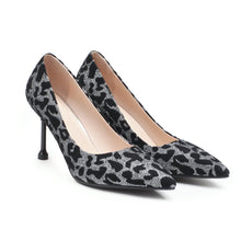 Load image into Gallery viewer, Pointed Toe High-heeled Shallow Mouth Pointed Toe Pumps