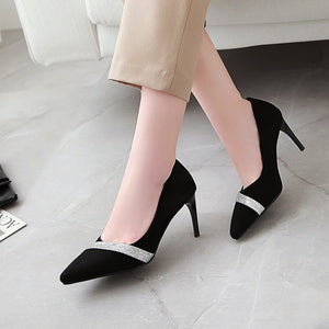 Pointed Toe High Heel Stiletto Heel Pumps