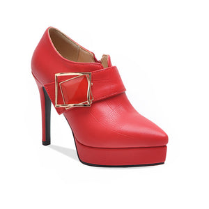 Sexy Super High Heel Pointed Mouth Women Shoes
