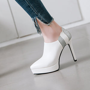 Super High Heel Platform Pointed Toe Shoes