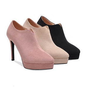 Super High Heel Platform Shoes