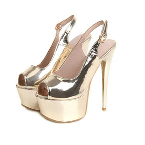 Women's Nightclub Ultra High Heel Stiletto Heel Platform Pumps