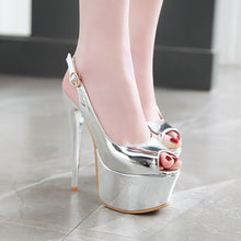 Load image into Gallery viewer, Women's Nightclub Ultra High Heel Stiletto Heel Platform Pumps