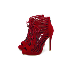 Women's High Heel Open Toe Stiletto Heel Sandals