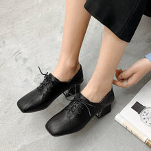Load image into Gallery viewer, British Wind Genuine Leather Women Oxford Shoes