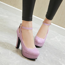 Load image into Gallery viewer, Super High Heel Women Platform Pumps Wedding Shoes