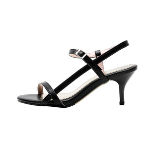 Women's High Heel Buckle Stiletto Heel Sandals