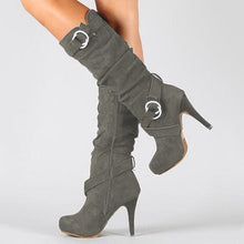 Load image into Gallery viewer, High Heels Women's Knight Boots