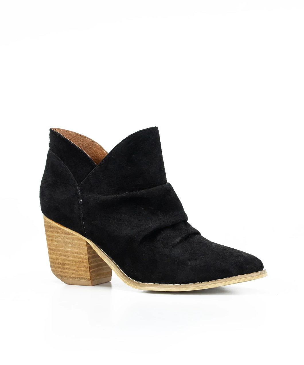 Women's High Heel Round Head Ankle Boots