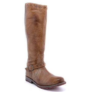 Round Toe Belted Women's Knight Boots