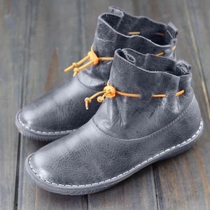 Women's Flat Casual Ankle Boots
