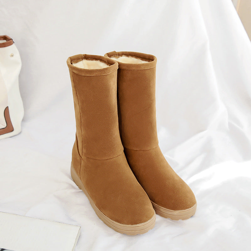 Women's Flat-bottomed Short Boots