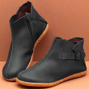 Women's Round Head Ankle Boots