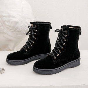 Women's Flat-bottomed Ankle Boots