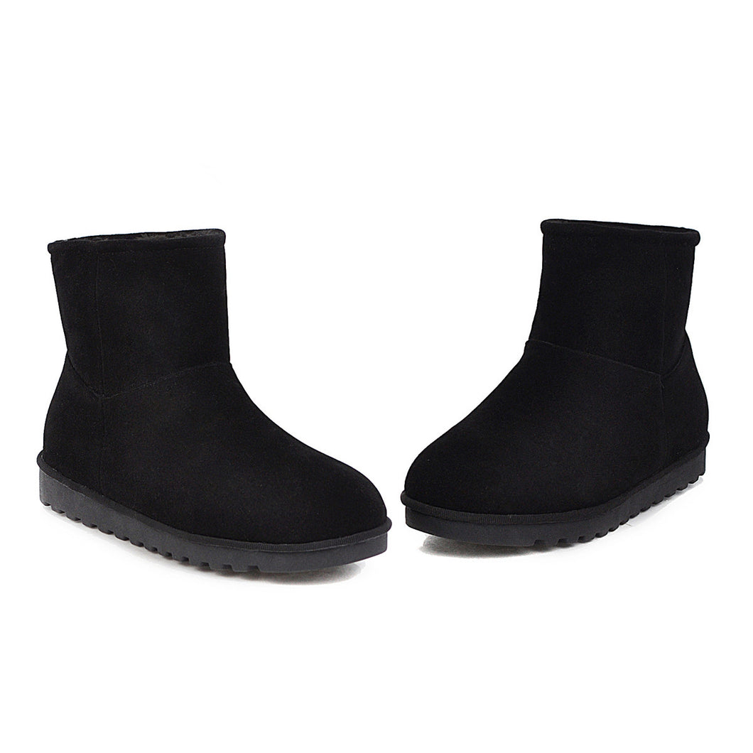 Women's Round Head Snow Boots