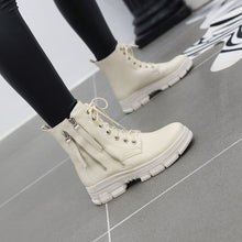 Load image into Gallery viewer, Women's Flat-bottomed Ankle Boots