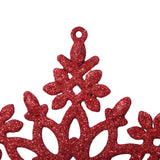 Christmas Home New Year Glitter Snowflake Hanging Decorating Ornaments