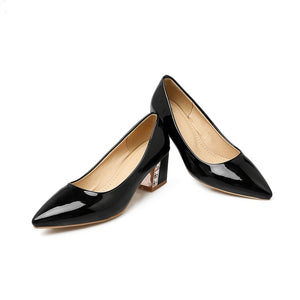 Pointed Toe Women Pumps High Heels Jelly Shoes Woman