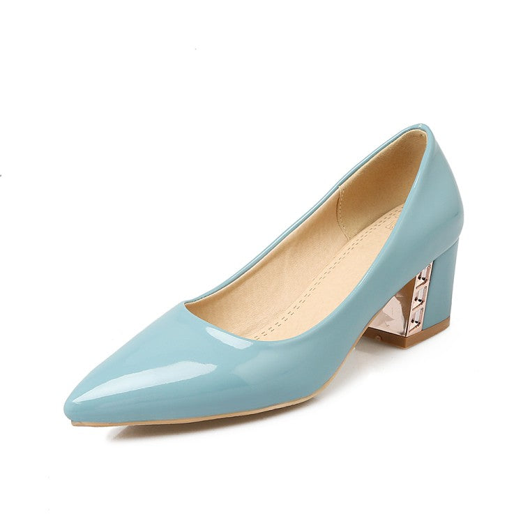 Jelly Women High Woman Pumps Toe Shoes Pointed Heels LVpqSUMGz