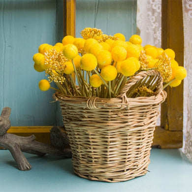 Artificial Flower Home Decor Hairy Globular Fruit Hand Tied Bouquet Accessories