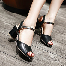 Load image into Gallery viewer, Fashion Peep Toes Sandals Ankle Straps Pumps Platform High Heels Women Dress Shoes 7949