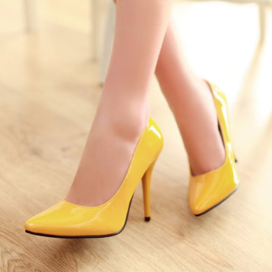 Pointed Toe Women Pumps High Heels Dress Shoes