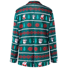 Load image into Gallery viewer, One Button Christmas Costumes Slim Fit Men Blazer 6836