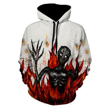 Load image into Gallery viewer, Halloween Costumes Devil Print Men Pullover Hoodie 8392