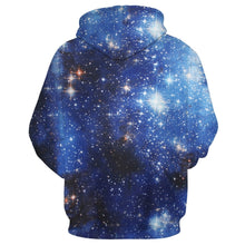 Load image into Gallery viewer, 3D Stars Galaxy Print Men Hoodie with Kangaroo Pocket 6738