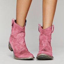 Load image into Gallery viewer, Women's Martin Boots Retro Short Boots