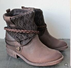 Women's Hollow Out Short Boots