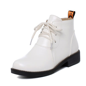 Women's Lace Up Ankle Boots
