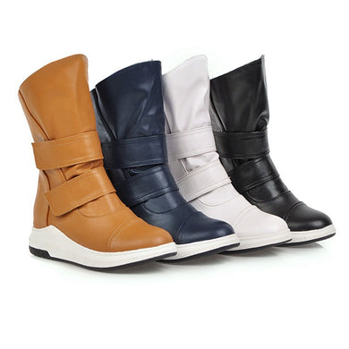 Women's Platform Wedges Ankle Boots