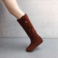 Load image into Gallery viewer, Women's Suede Tall Boots Shoes Woman