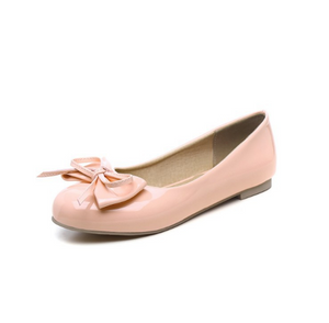 Women Flats with Bow Ballet Shoes Woman Loafers 3540