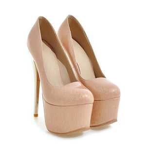 Sexy Nightclub Platform Pumps Stiletto High Heels