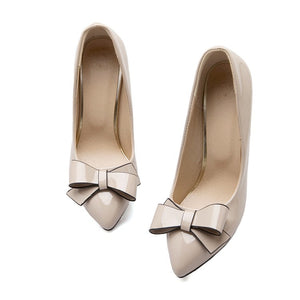 Stiletto High Heel Pointed Toe Bridal Shoes Women Pumps