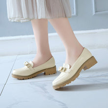 Load image into Gallery viewer, Casual Bow Women Flats Platform Shoes Big Size