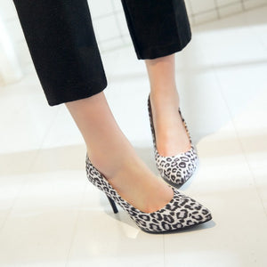 Sexy Thin Heel Super High Heel Shallow Mouth Women Pumps