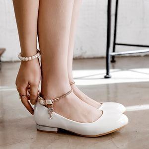Women's Square Low Heels Shoes