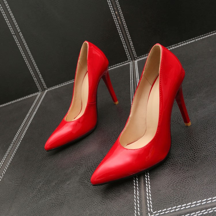 Sexy Super High Heel Wedding Shoes Women Pumps
