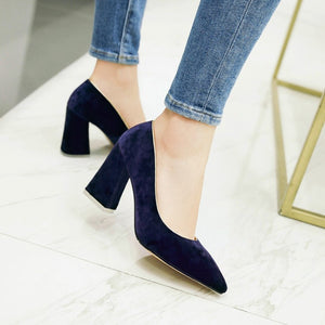 Women's Pumps Pointed High Heel