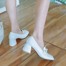 Load image into Gallery viewer, High Heel Square Head Women Pumps