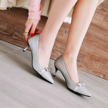 Load image into Gallery viewer, Womens High Heel Shoes Pointed Toe Lady Pumps Party Dress Shoes